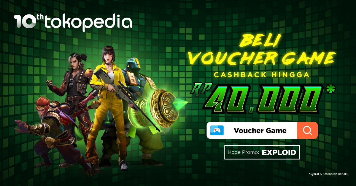 Tokopedia Big Banner