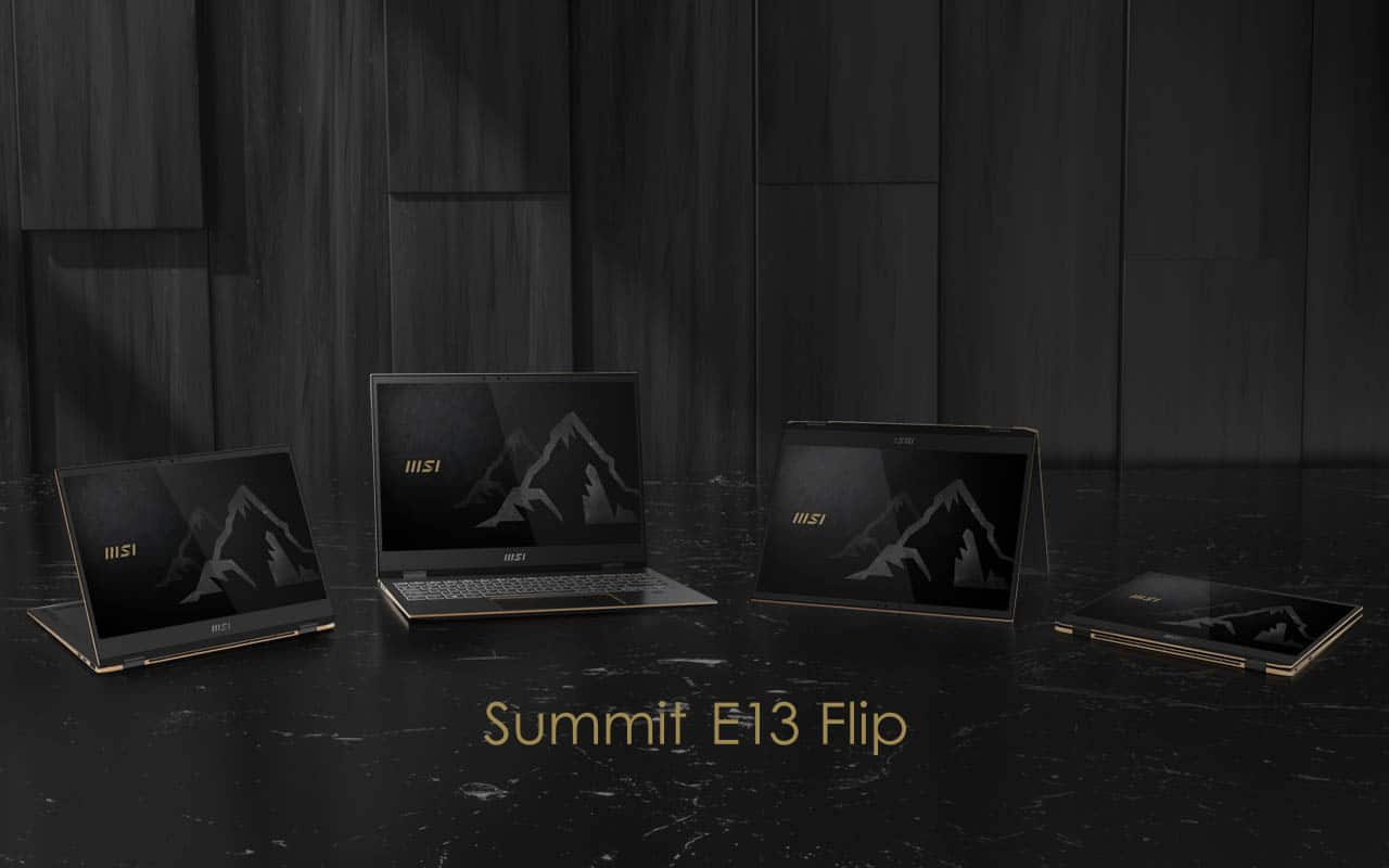 MSI Summit Series, Laptop 'Gunung' Dengan Rumus Matematika?