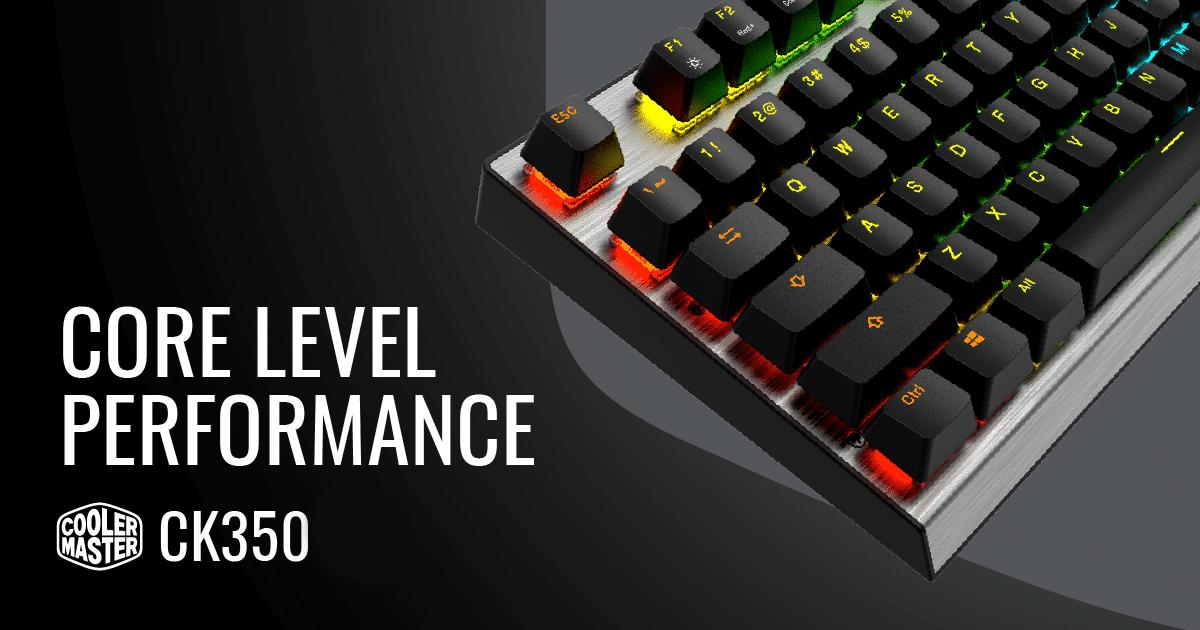Cooler Master Luncurkan Keyboard Gaming CK350 dengan Harga Terjangkau